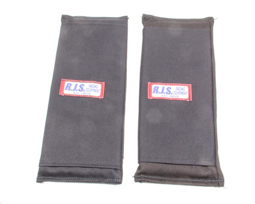 3in Harness Pads Black