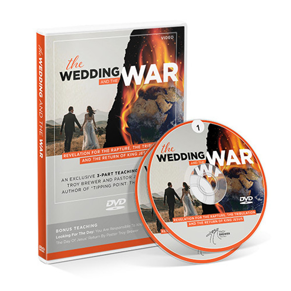 The Wedding & The War 3-Part Teaching with Jimmy Evans Plus Bonus teaching by Troy Brewer
