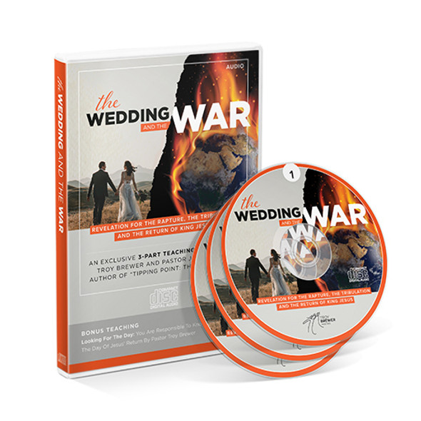 The Wedding & The War 3-Part DVD with Jimmy Evans and Bonus Teaching by Troy Brewer