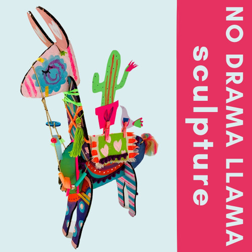 Llama Sculpture - At Home Art Craft Projects  and Classes for Kids | small hands big art