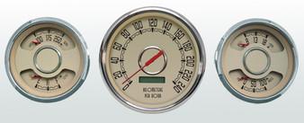 3 gauge 32 Ford style metric KPH km/h