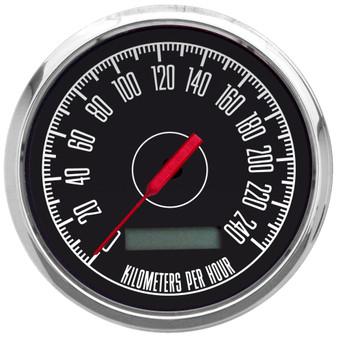 204 kph km/h METRIC SPEEDOMETER