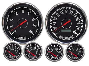metric musclecar gauges custom mustang camaro