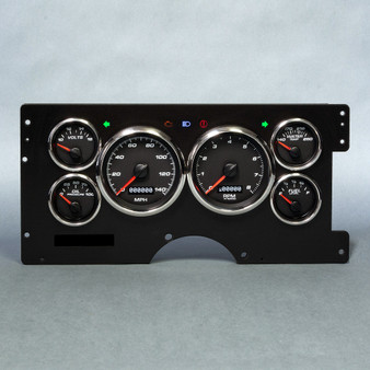 88-94 GM TRUCK F/S  PERFORMANCE PROG SPEEDO BLK