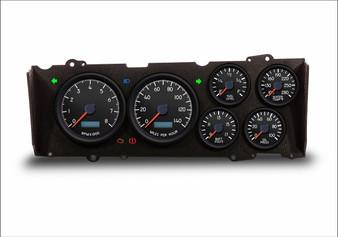 red LED cutlass g-body dash cluster custom gauges