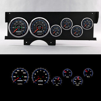 70-72 MALIBU SWEEP DASH CFR BLUE