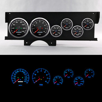 70-72 MALIBU SWEEP DASH PERFORMANCE II BLK
