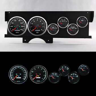 70-72 MALIBU SWEEP DASH PERFORMANCE BLK