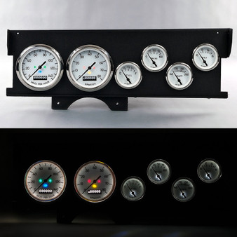 70-72 MALIBU SWEEP DASH 1940 SERIES WHT