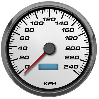 Performance racing gauges kilometer speedometer metric