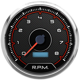 Hi style CFR american muscle gauges