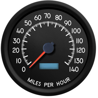 military style speedometer ls vss pcm