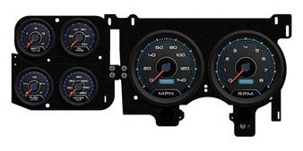 pro-touring gauges cluster dash 73-87 chevy truck c-10