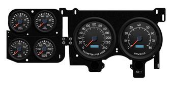kph km/h metric gauges Chevy truck squarebody custom