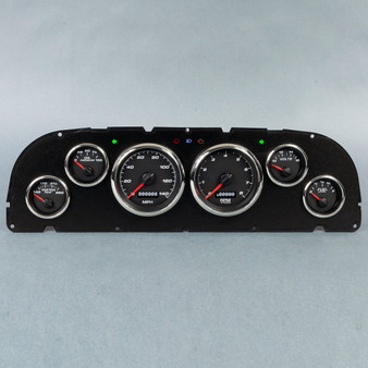60-63 CHEVY TRUCK 6 GA KIT PERFORMANCE PROG SPEEDO BLK