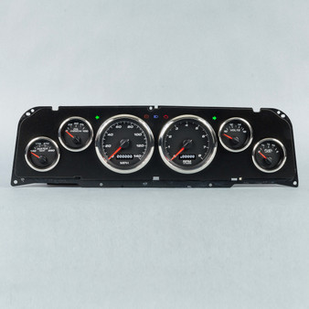 64-66 CHEVY TRUCK 6 GA KIT PERFORMANCE PROG SPEEDO BLK