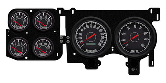 c-10 k15 gauges custom diesel dash