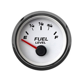"2-1/16"" FUEL LEVEL  240-33 WHT"