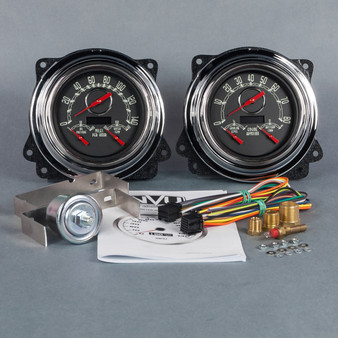 Custom aftermarket 47-53 GM truck gauges