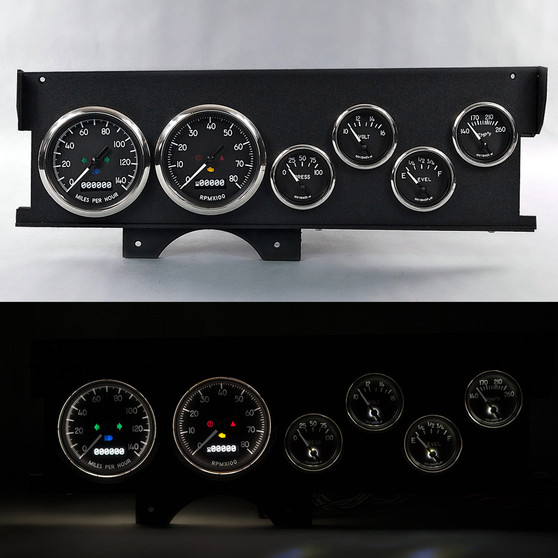 70-72 MALIBU SWEEP DASH 1940 SERIES BLK