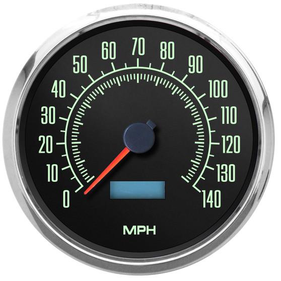 retro vintage muscle car speedometer American muscle