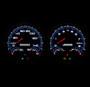 LED backlit custom 3-1 gauges NVU