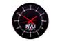 PROMO WALL CLOCK-WOODWARD BLK