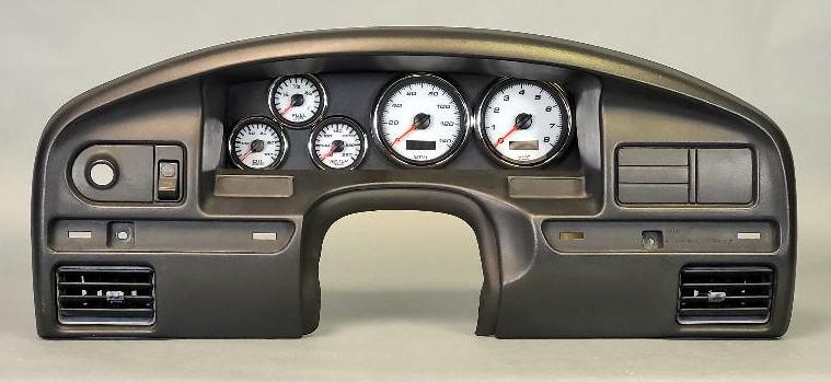 92-96 F-150 dash custom gauges aftermarket