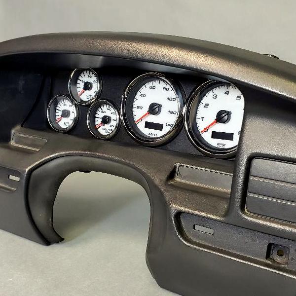 Custom 92-96 Ford truck gauges bronco f150 f-150