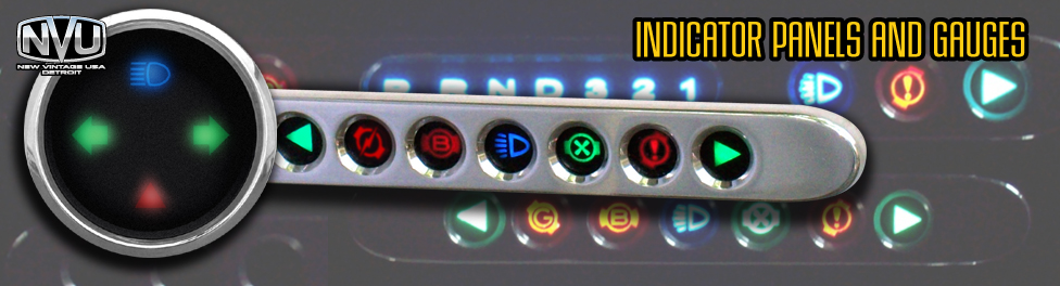 dash led indicator lights icons custom dash