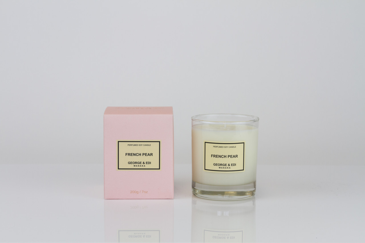 George & Edi Candle - French Pear