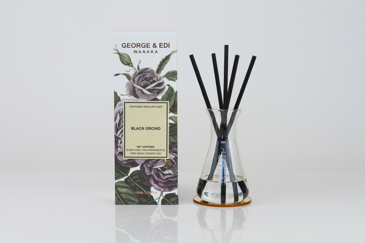 George & Edi Reed Diffuser - Black Orchid