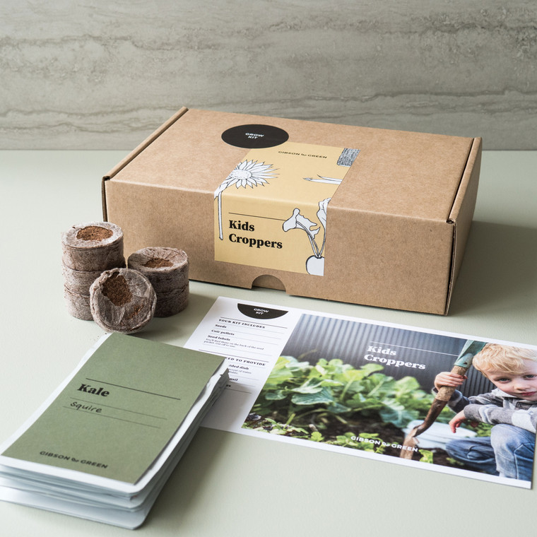 Gibson & Green - Kids Croppers Grow Kit