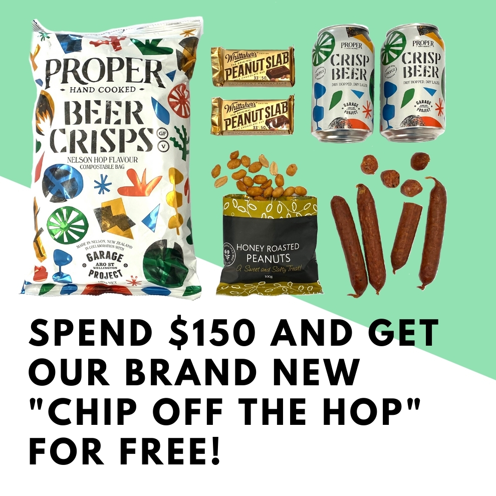"Spend $150.00 and get our New ""Chip off the Hop"" FOR FREE!"