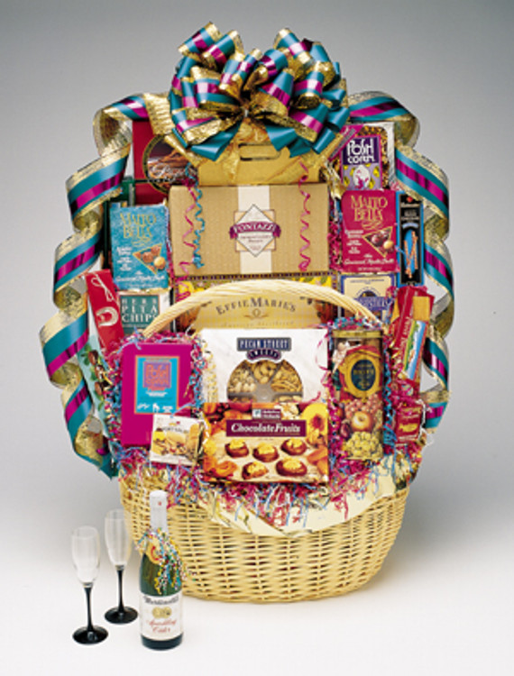 Office Party In A Basket