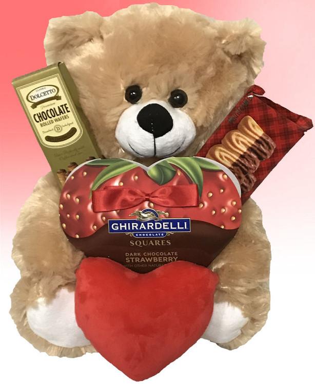 strawBEARy and Chocolate