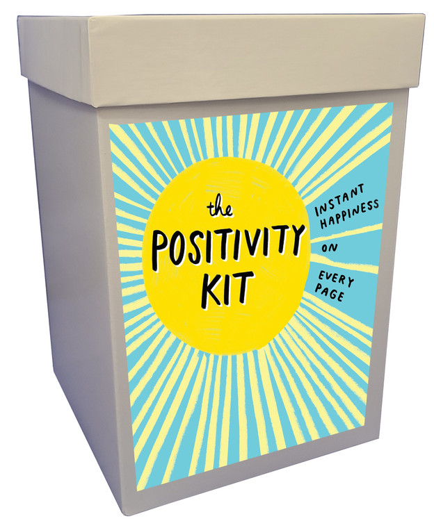 A very special gift featuring The Positivity Kit, an interactive book that delivers instant happiness on every page! Helps you focus on all the good things! We have also included a spa packet, delicious chocolates and cookie, herbal tea, and a candle. This is a gift everyone should have and is especially a great gift for anyone who is under stress, facing challenges, or fighting an illness