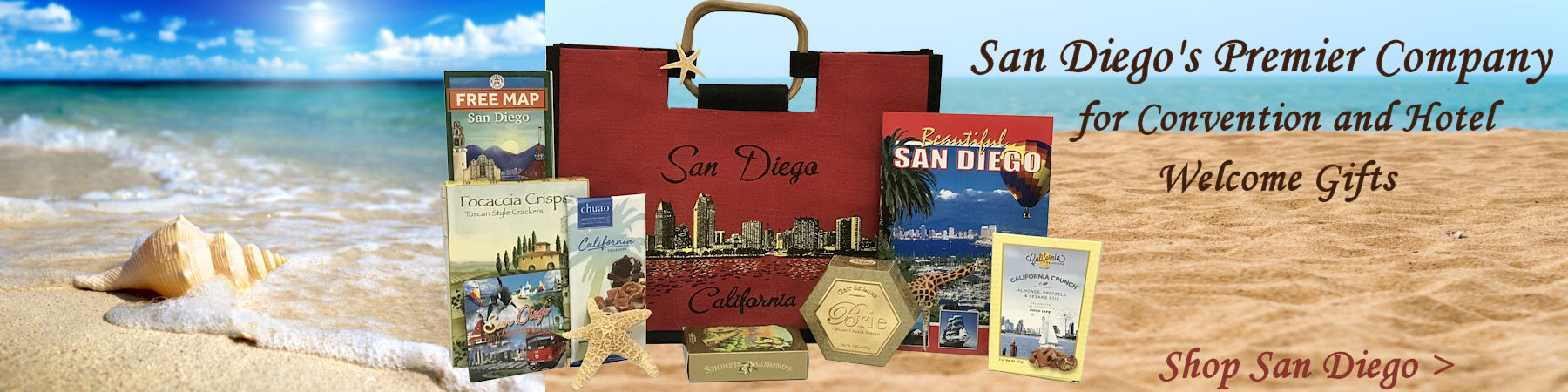 San Diego Hotel and Convention gifts