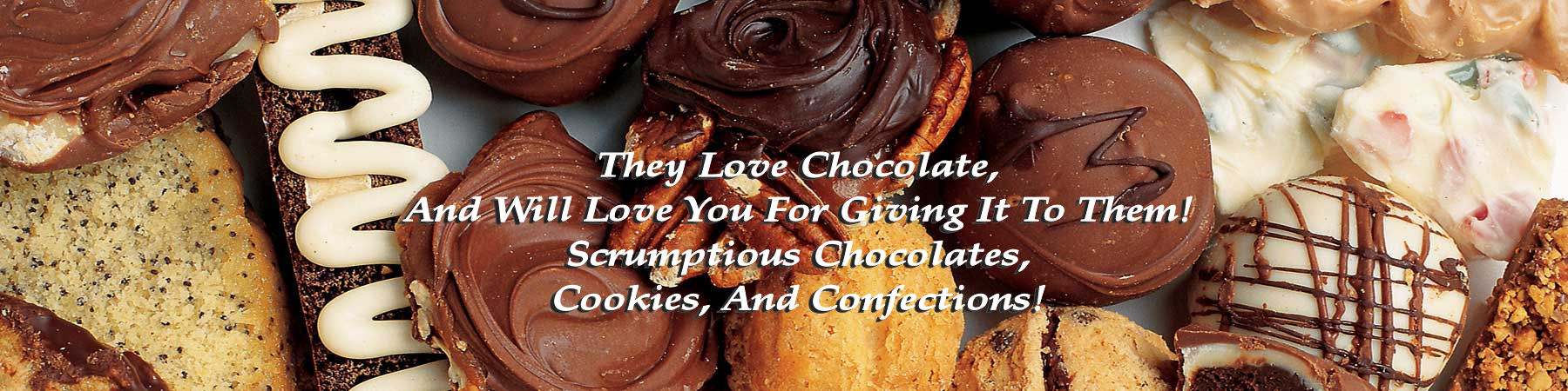 Delicious chocolate gift baskets & gifts