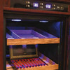 The Remington Electronic Cigar Cabinet Humidor