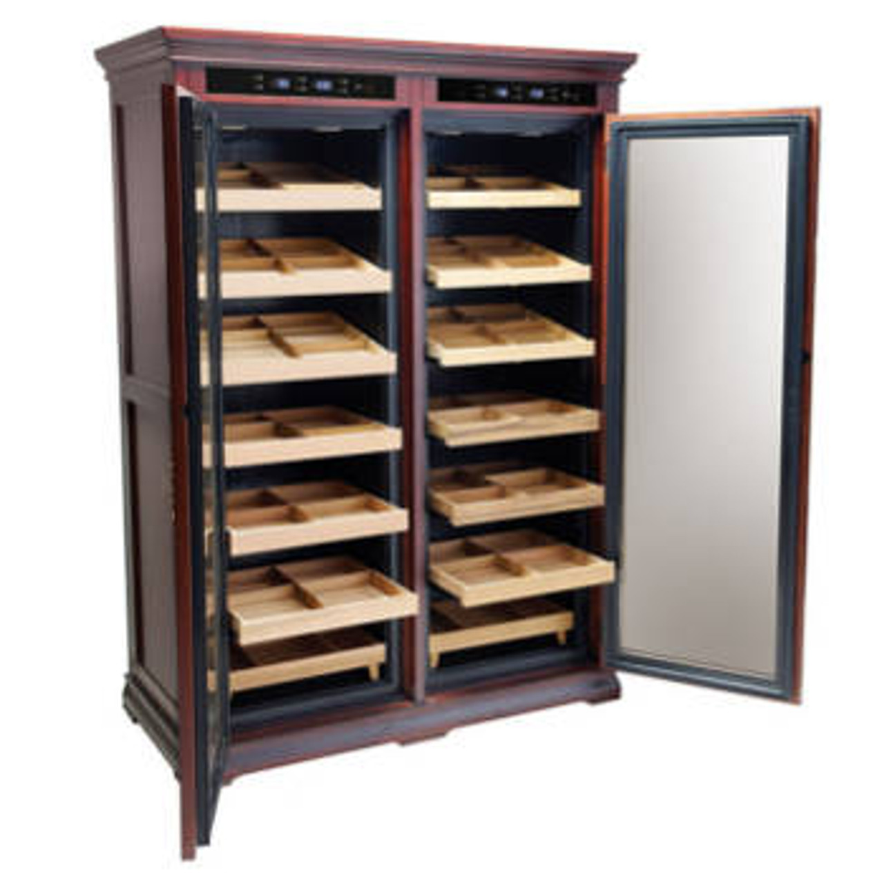 The Reagan Electronic Cigar Humidor Cabinet
