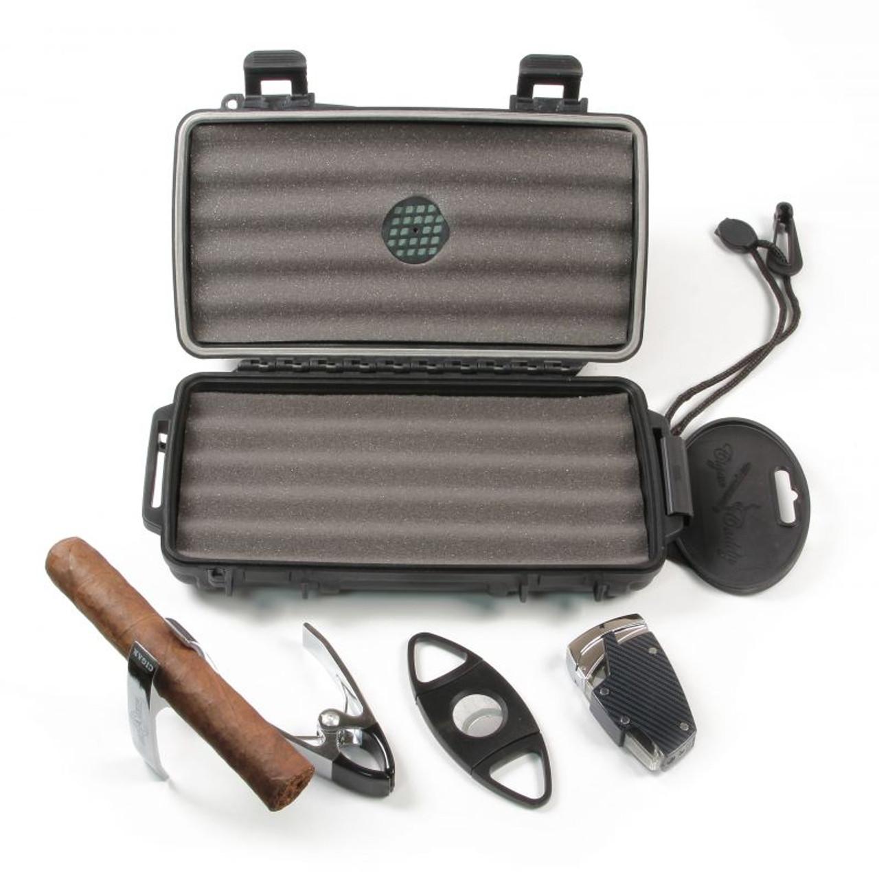Cigar Caddy Golf Traveler Gift Set