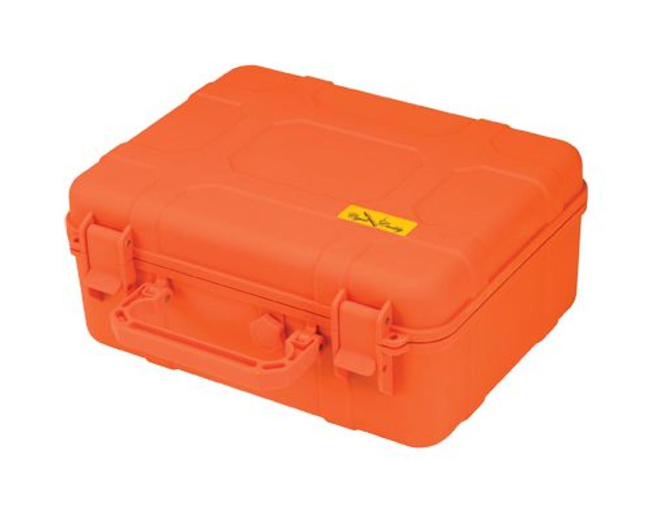 Cigar Caddy 40 Count Travel Humidor- Orange