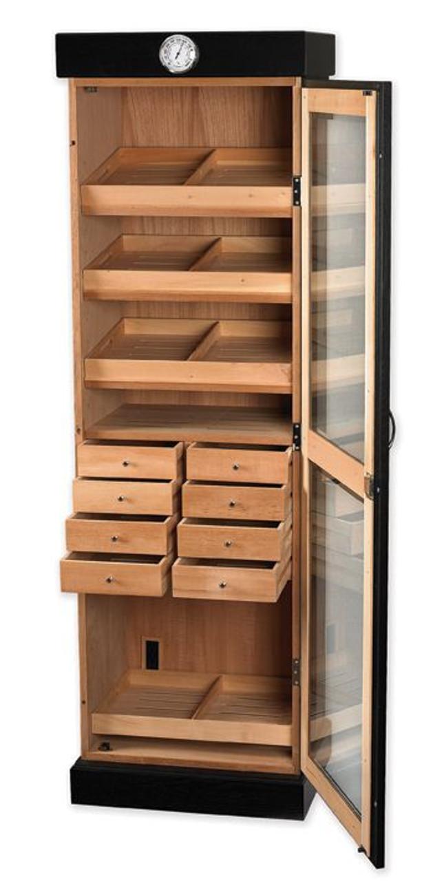 Cigar Cabinet Humidor: Cigar Tower Drawer Unit Humidor