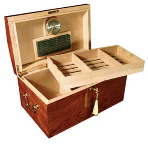 Desktop Cigar Humidor: Broadway 150 Cigar Humidor