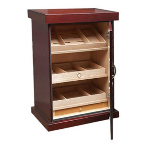 Cigar Cabinet Humidor: Spartacus Cherry 1000 Cigar Display Humidor