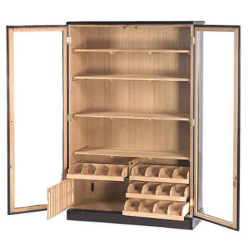 Cigar Cabinet Humidor: Deluxe Wall Cabinet 4000 Cigar Humidor HUM-4000