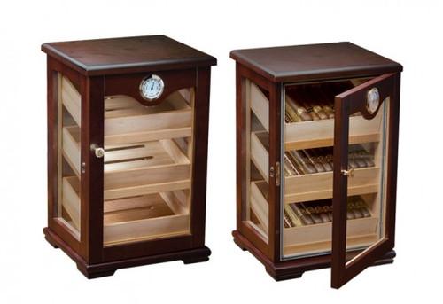 Cigar Cabinet Humidor: The Milano Cigar Countertop Display Humid