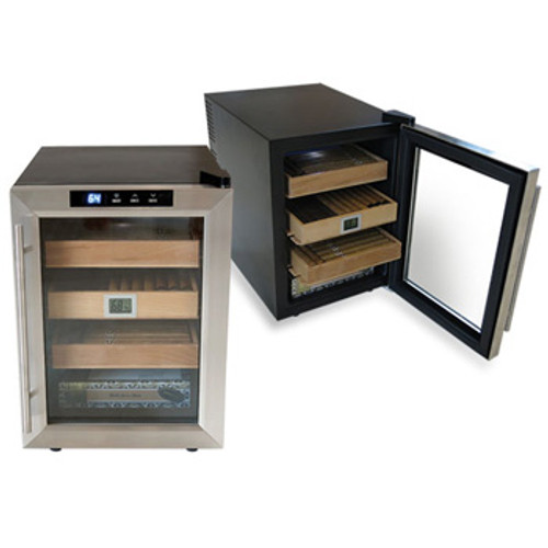 The Clevelander Electronic Cigar Humidor Cabinet