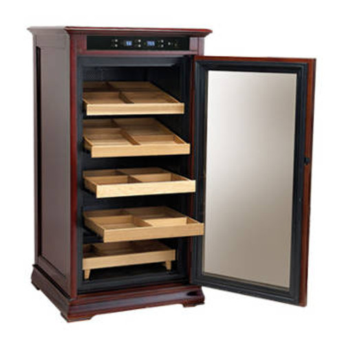 The Redford Electronic Cigar Humidor Cabinet